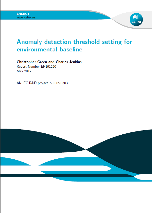 Anomaly detection threshold setting for environmental